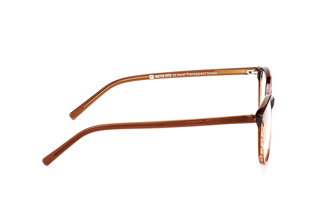 Mister Spex Collection Aurel Transparent Brown Perspektivenansicht