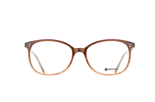 Mister Spex Collection Aurel Transparent Brown perspective view