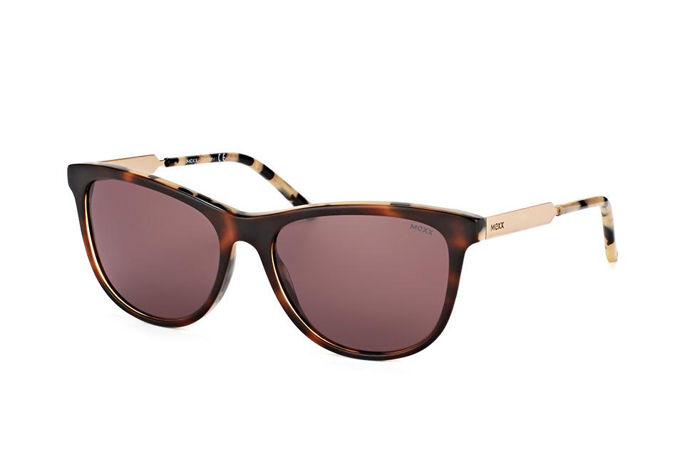 mexx -  6356 200, Quadratische Sonnenbrille, Damen, in Sehstärke erhältlich