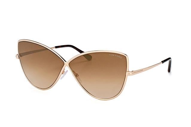 Tom Ford Damen Sonnenbrille » FT0569«, goldfarben, 28G - gold/braun