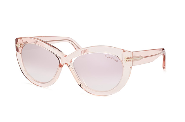 3fae9117ee ... Sunglasses  Tom Ford Diane-02 FT 0577 S 72Z. null perspective view ...