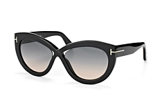 Tom Ford Diane-02 FT 0577/S 01B petite
