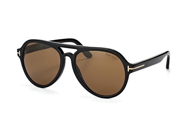 Tom Ford Herren Sonnenbrille » FT0596«, schwarz, 01J - schwarz/braun