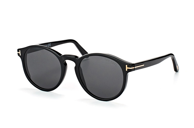 Tom Ford Ian-02 FT 0591/S 01A Perspektivenansicht
