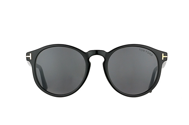 Tom Ford Ian-02 FT 0591/S 01A vista en perspectiva