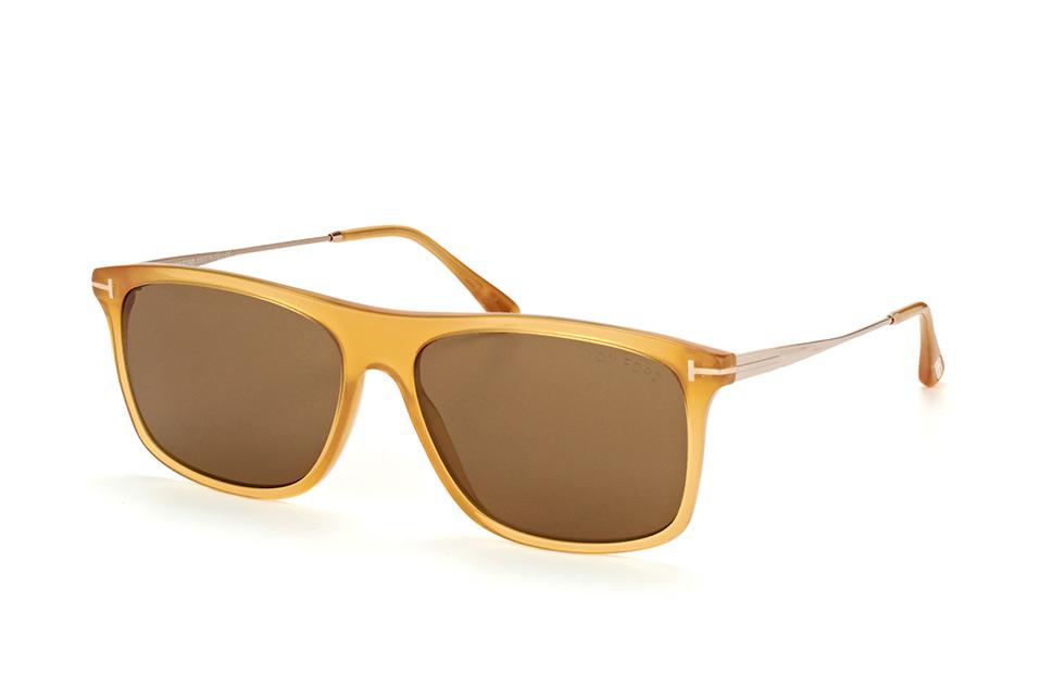 tom ford -  Max-02 FT 0588/S 39J, Quadratische Sonnenbrille, Herren, in Sehstärke erhältlich