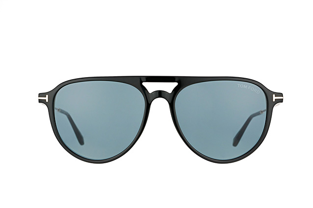 Tom Ford Carlo-02 FT 0587/S 01V perspective view