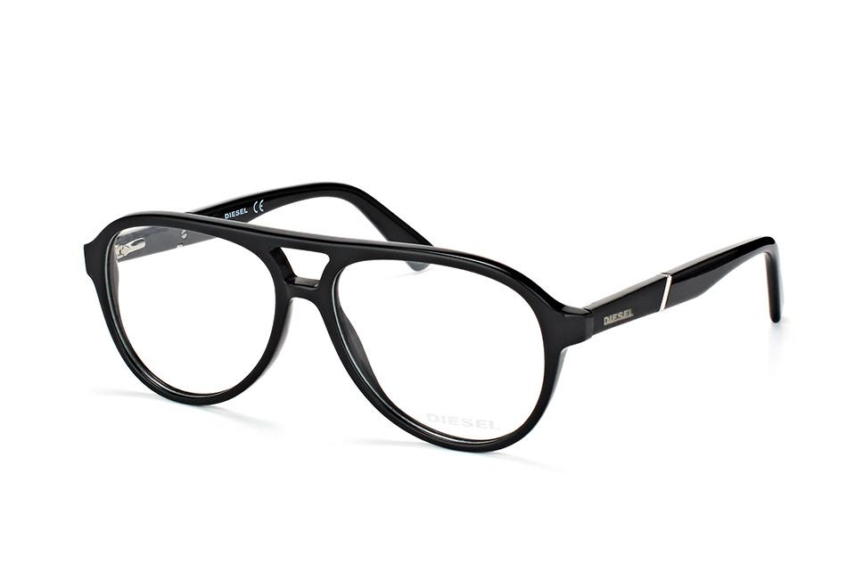 Diesel Herren Brille » DL5257«, schwarz, 001 - schwarz