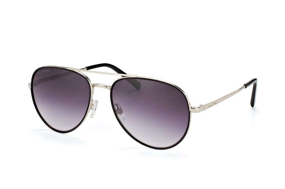 Marc O'polo Eyewear MOP 505056 00, Aviator Sonnenbrillen, Schwarz