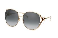 Gucci GG 0225S 001, Round Sonnenbrillen, Goldfarben