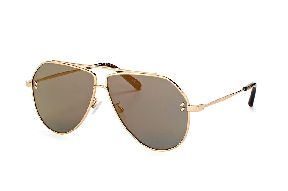 SC 0063S 003, Aviator Sonnenbrillen, Goldfarben