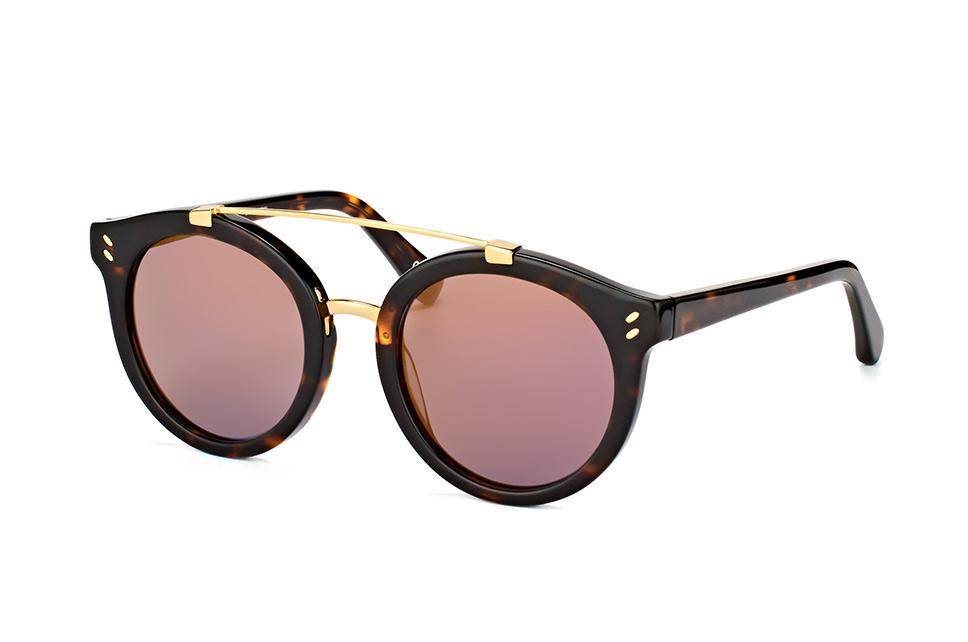 SC 0054S 006, Aviator Sonnenbrillen, Havana