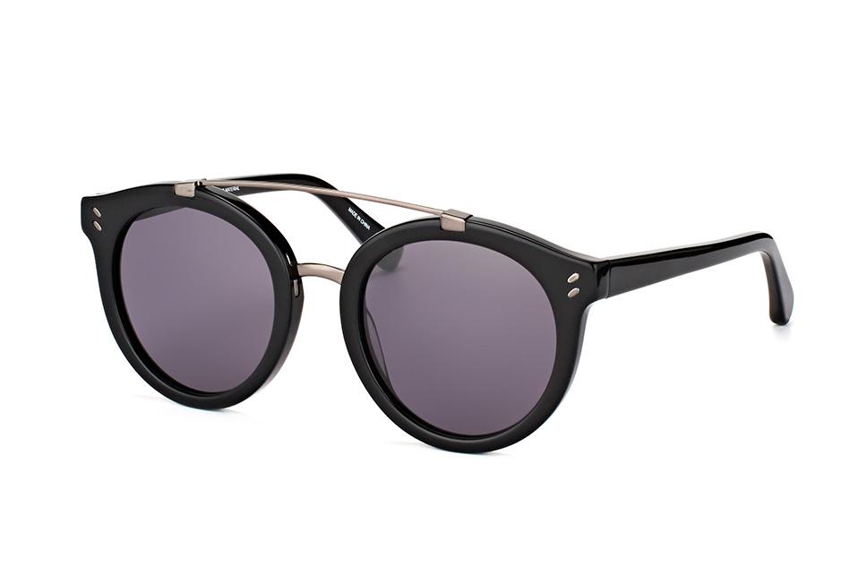 SC 0054S 005, Aviator Sonnenbrillen, Schwarz