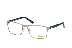 Puma PE 0027O 004, Square Brillen, Silber