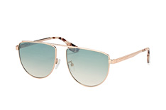 McQ MQ 0093S 005, Aviator Sonnenbrillen, Goldfarben