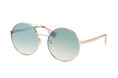 McQ MQ 0092S 005, Round Sonnenbrillen, Goldfarben