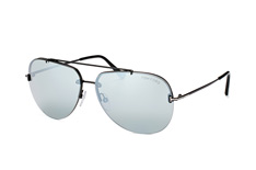 Tom Ford Brad-02 FT 0584/s 12C, Aviator Sonnenbrillen, Schwarz