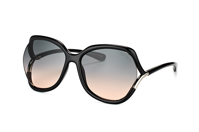 Tom Ford Anouk-02 FT 0578/S 01B Perspektivenansicht
