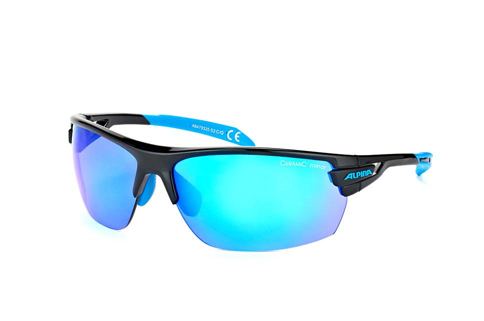 Tri-Scray A 8479 3.35, Sporty Sonnenbrillen, Blau