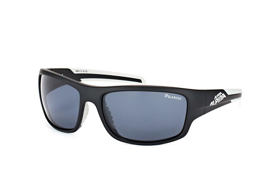 Testido P A8566 5.31, Sporty Sonnenbrillen, Schwarz