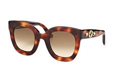 Gucci GG 0208S 003, Butterfly Sonnenbrillen, Havana