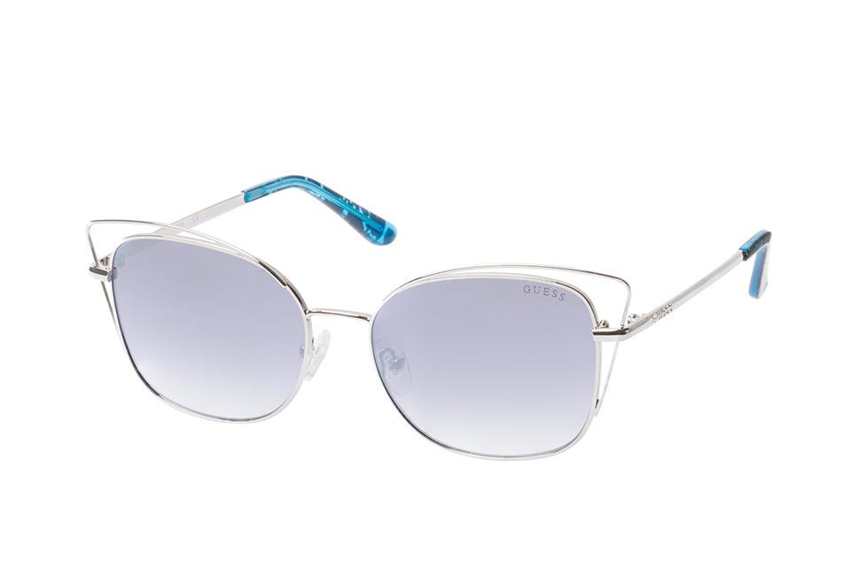 GU 7528/s 10X, Butterfly Sonnenbrillen, Silber
