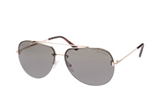 Tom Ford Brad-02 FT 0584/s 28A, Aviator Sonnenbrillen, Goldfarben