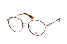Blogger for Mister Spex Jasmin 001, Round Brillen, Goldfarben