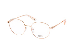 Blogger for Mister Spex Jasmin 002, Round Brillen, Goldfarben