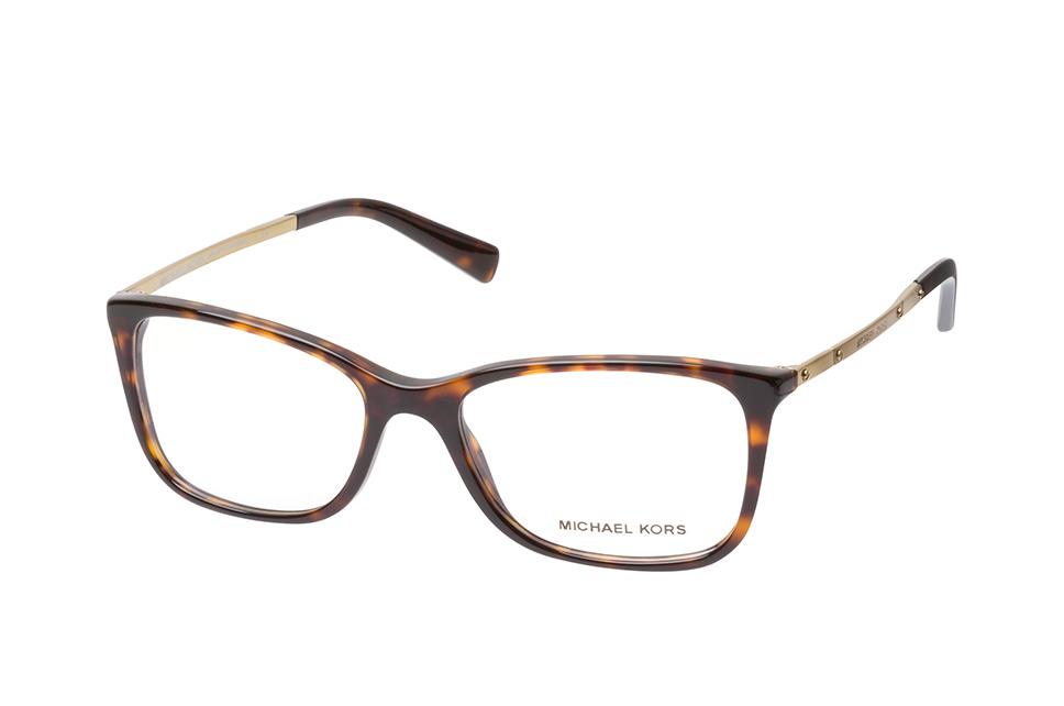 MICHAEL KORS Michael Kors Damen Brille »BREE MK4044«, schwarz, 3255 - schwarz