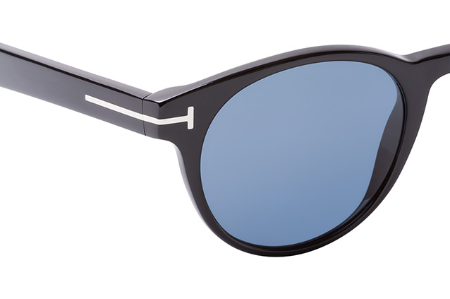 Tom Ford Palmer FT 522/S 01V Perspektivenansicht