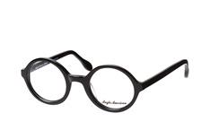 Anglo American AA 221Evo blk, Round Brillen, Schwarz