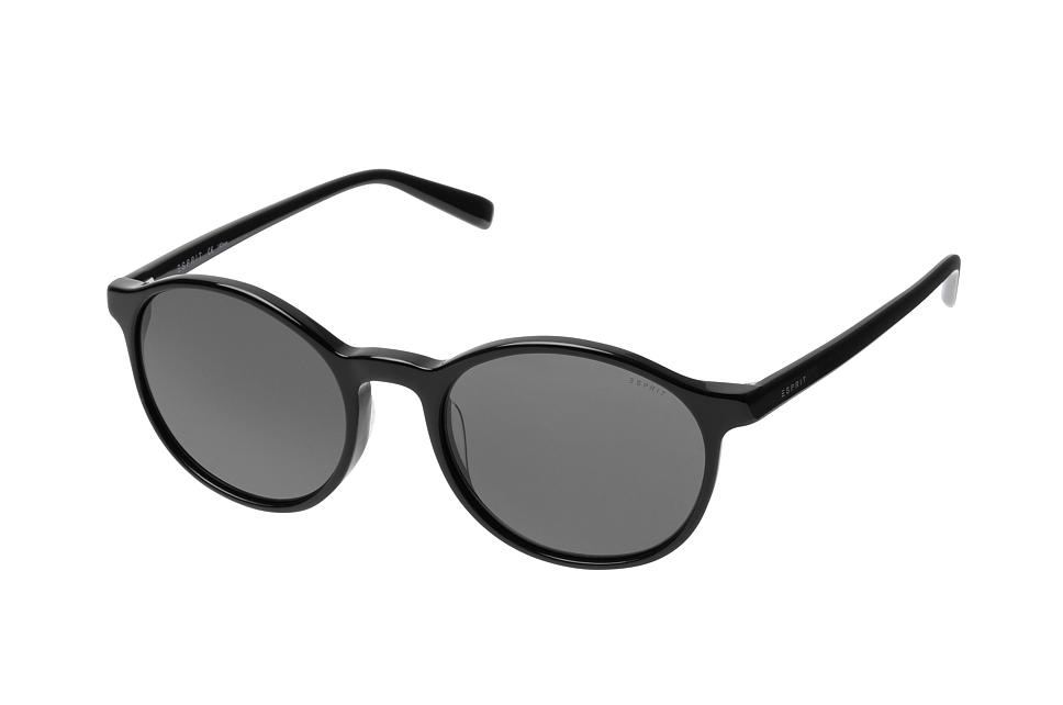 ET 17950 538, Round Sonnenbrillen, Schwarz