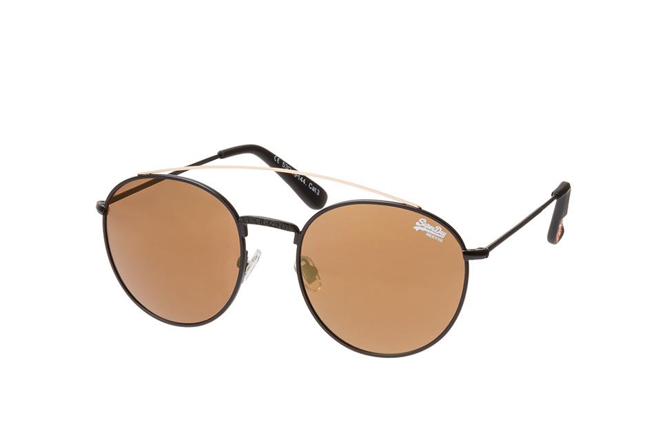 Indianna 004, Aviator Sonnenbrillen, Schwarz