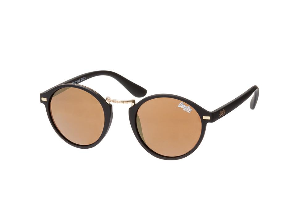 Crescendo 104, Round Sonnenbrillen, Schwarz