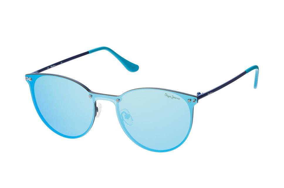 Pepe Jeans Finna PJ 5134 C4, Singlelens Sonnenbrillen, Blau