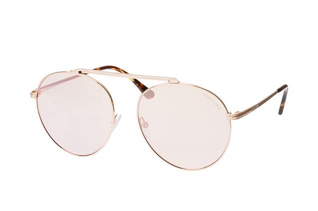 Tom Ford Damen Sonnenbrille » FT0571«, goldfarben, 28G - gold