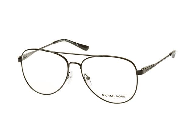 MICHAEL KORS Michael Kors Damen Brille »PROCIDA MK3019«, schwarz, 1169 - schwarz