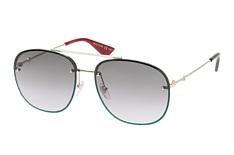Gucci GG 0227S 001, Aviator Sonnenbrillen, Goldfarben