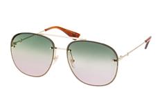 Gucci GG 0227S 004, Aviator Sonnenbrillen, Goldfarben