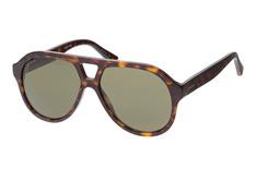 Gucci GG 0159S 002, Aviator Sonnenbrillen, Havana