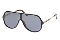 Gucci GG 0199S 001, Singlelens Sonnenbrillen, Schwarz