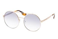 McQ MQ 0092S 002, Round Sonnenbrillen, Goldfarben