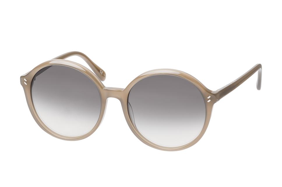 SC 0084S 005, Round Sonnenbrillen, Beige