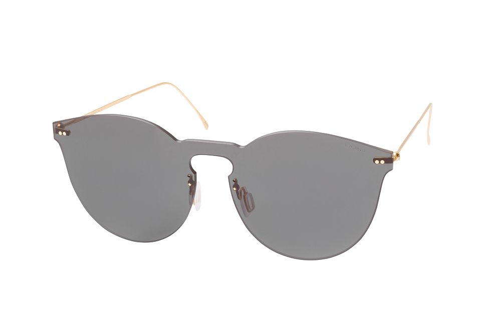 Leonard 2 Mask 05, Singlelens Sonnenbrillen, Goldfarben