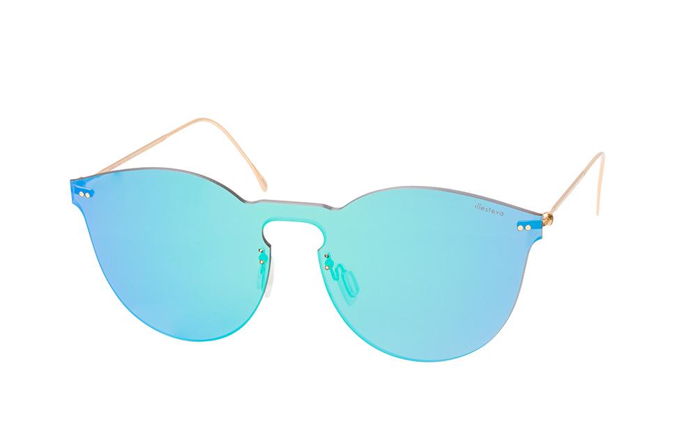 Leonard 2 Mask C1, Singlelens Sonnenbrillen, Goldfarben