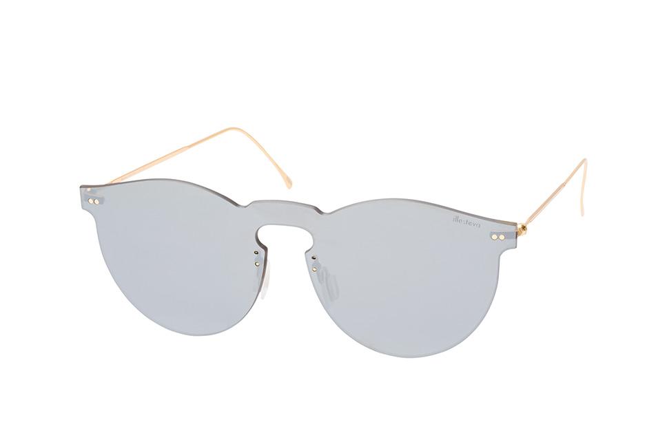 Leonard Mask 01, Singlelens Sonnenbrillen, Goldfarben