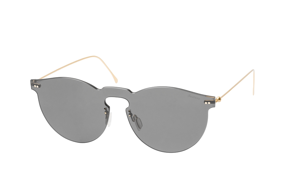 Leonard Mask 07, Singlelens Sonnenbrillen, Goldfarben