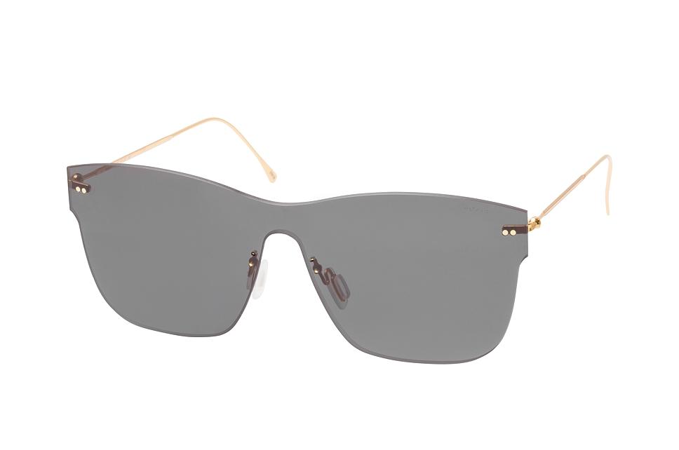 Newbury C3, Singlelens Sonnenbrillen, Goldfarben