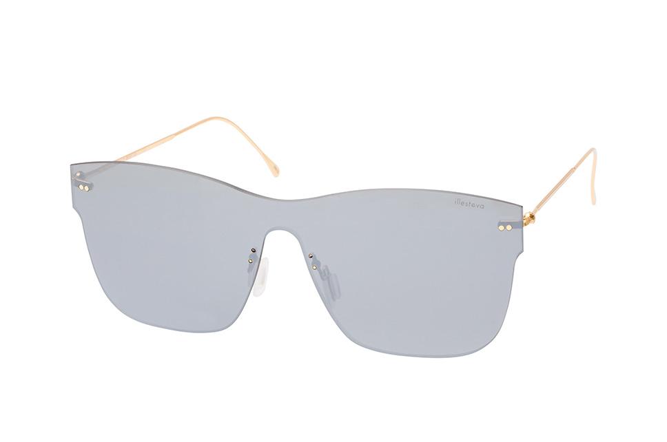 Newbury C7, Singlelens Sonnenbrillen, Goldfarben